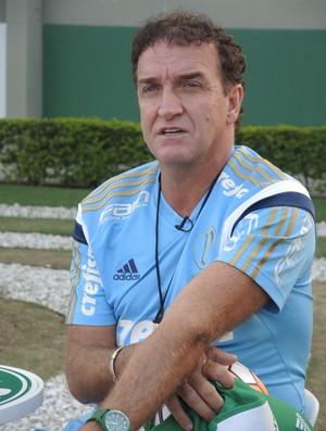 Cuca entrevista especial Palmeiras (Foto: Felipe Zito)