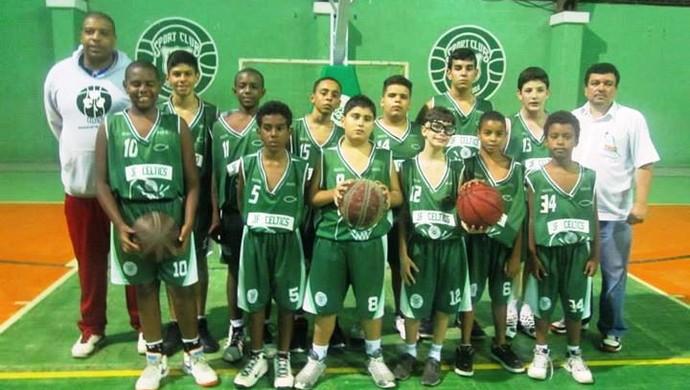 Basquete JF Celtics sub-13 (Foto: JF Celtics/Divulgação)