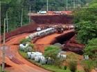 Obras de viaduto em Foz do Iguaçu serão finalizadas por concessionária
