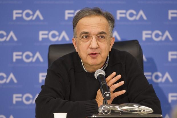 Presidente da Fiat Chrysler, Sergio Marchionne (Foto: Geoff Robins / AFP)