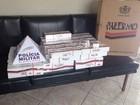 PM prende suspeito de vender cigarros contrabandeados em Luz