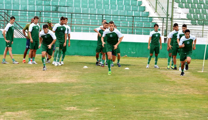 Guarani treino Brinco de Ouro (Foto: Murilo Borges)