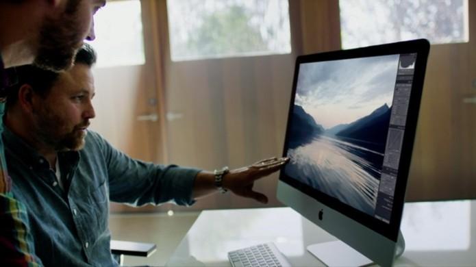 Novo iMac com tela 8K pode ser lançado ainda em 2015 (Foto: Reprodução)