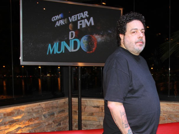 Alexandre Machado é um dos autores da séries (Foto: Amanda Freitas / Tv Globo)
