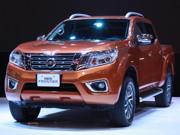 Nissan Frontier (Foto: Rafael Miotto/G1)