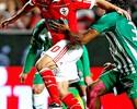 No Benfica, Aimar vive em alta com torcida, mas em baixa no campo