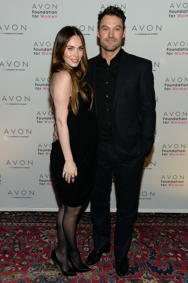 Os atores Megan Fox e Brian Austin Green (Foto: Getty Images)