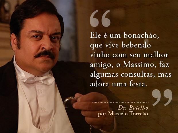 Card Dr. Botelho - Marcelo Torreão (Foto: Fábio Rocha/Gshow)