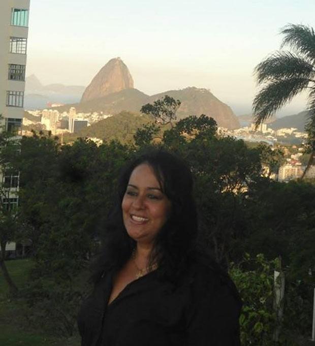 A escritora carioca, Descoberta de Durante UMA das Edições da Flupp, a Festa Literária das Periferias (Foto: Arquivo Pessoal)