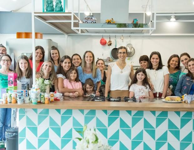 Pediatria na Mesa reúne pais e filhos para um bate-papo na cozinha (Foto: Divulgação)