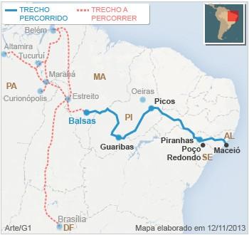 MAPA Balsas Maranhão Caravana