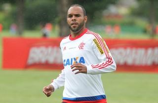 Alecsandro, Flamengo, jogo-treino, Gonçalense, Ninho (Foto: Gilvan de Souza/Fla Imagem)