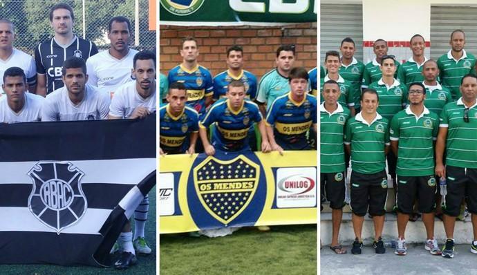 Rio Branco-ES, Mendes e Santo André representam o ES na Copa do Brasil de Futebol 7 (Foto: Editoria de arte)