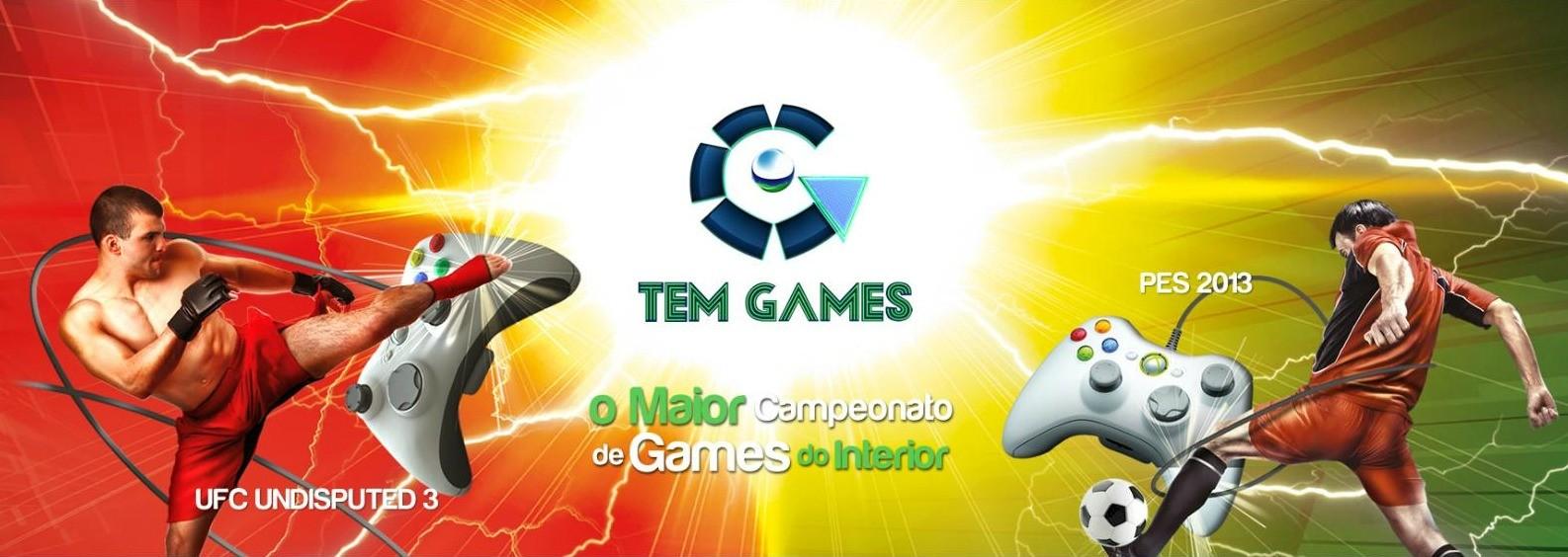 Tem Games 2013 - topo (Foto: Arquivo / TV TEM)