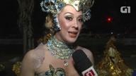 'Eu sou da família Beija-flor', diz Cláudia Raia, madrinha da escola