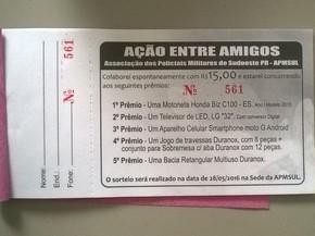 Ação entre amigos pretende arrecadar R$ 126 mil (Foto: Apmsul / Divulgação)