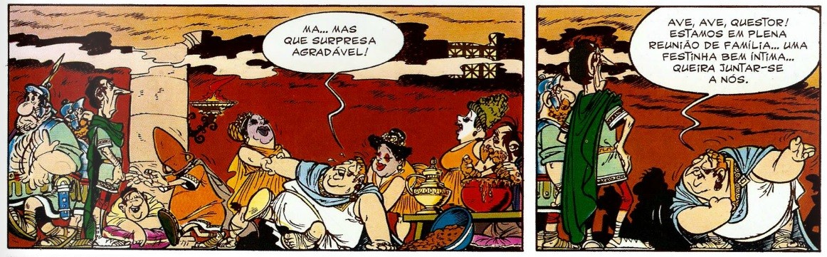 (Foto: Reprodução / Asterix entre os Helvécios)