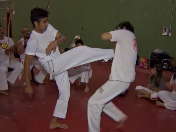 Capoeira MS (Foto: Reprodução/TV Morena)