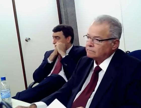 Emílio Odebrecht em depoimento (Foto: Reprodução/ Youtube)