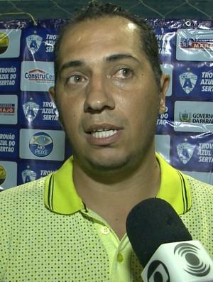 Ederson Araújo, Atlético-PB, Atlético de Cajazeiras (Foto: Reprodução / TV Paraíba)
