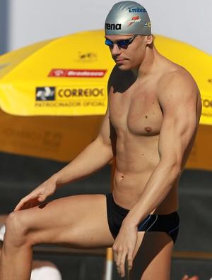 Cesar Cielo natação troféu josé finkel (Foto: Satiro Sodré / Divulgação CBDA)