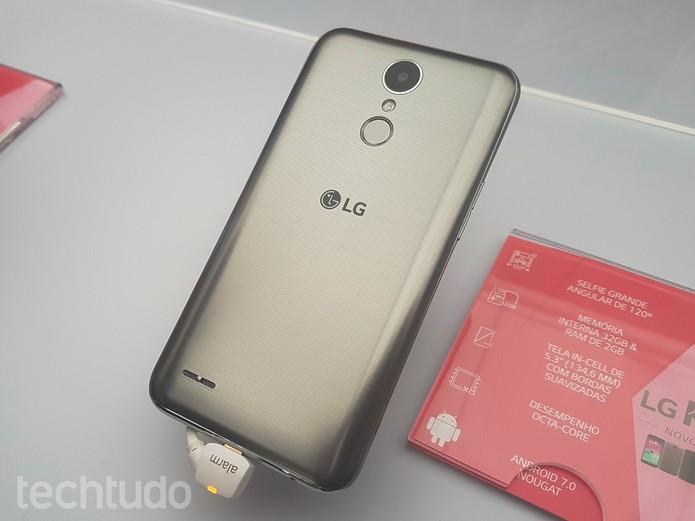 LG K10 chega a 2017 com preço sugerido de R$ 1.199 (Foto: Ana Marques/TechTudo)