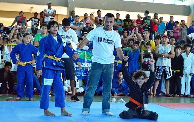 jiu-jitsu Amazonas (Foto: Emanuel Mendes Siqueira/Sejel)