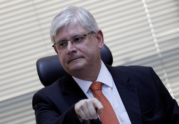 Procurador-geral da República, Rodrigo Janot, durante seminário em Brasília (Foto: Ueslei Marcelino/Reuters)