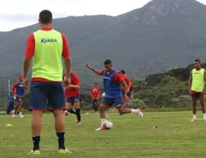 Paraná Clube realiza pré-temporada no CT Ninho da Gralha, em Quatro Barras (Foto: Divulgação / Site oficial do Paraná Clube)