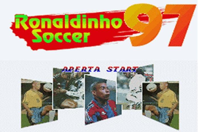 Ronaldinho Soccer era um dos jogos piratas do Super Nintendo (Foto: Divulgação)