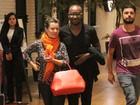 Fernanda Souza e Thiaguinho têm programa a dois no Rio