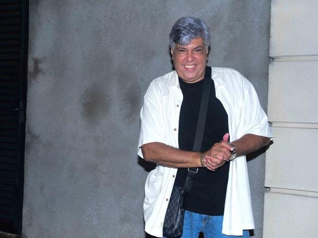 Sidney Magal em festa em São Paulo (Foto: Leo Franco/ Ag. News)