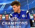 """Com """"baterias recarregadas"""", artilheiro do Schalke quer roubar a cena de CR7"""