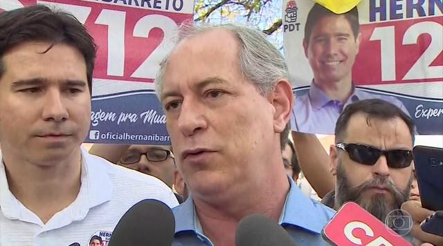 Ciro Gomes (PDT) faz campanha no interior de São Paulo
