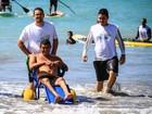 Praia Acessível realiza atividades no sábado (Divulgação/Ascom Semel)