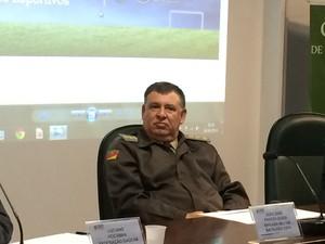Coronel Godoi - Brigada Militar - Copa do Mundo (Foto: Guilherme Pontes/G1)