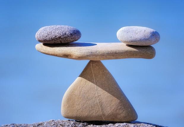 Equilibrar vida profissional e pessoal ; equilíbrio ; atitude zen ; carreira e vida pessoal ;  (Foto: Shutterstock)