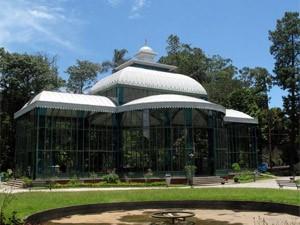 Palácio de Cristal em Petrópolis (Foto: Bernardo Tabak/G1)