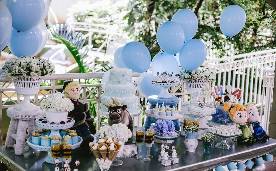 Festa Frozen Veja Fotos E Ideias De Decoração Lembrancinha E Bolo