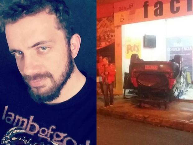 Jovem morto em Lins (Foto: Site J. Serafim Show/Divulgação)