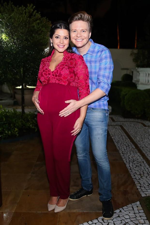 Thais Fersoza e Michel Teló (Foto: Manuela Scarpa / Brazil News)