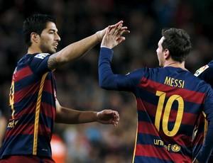 Messi; Suárez; Barcelona x Celta