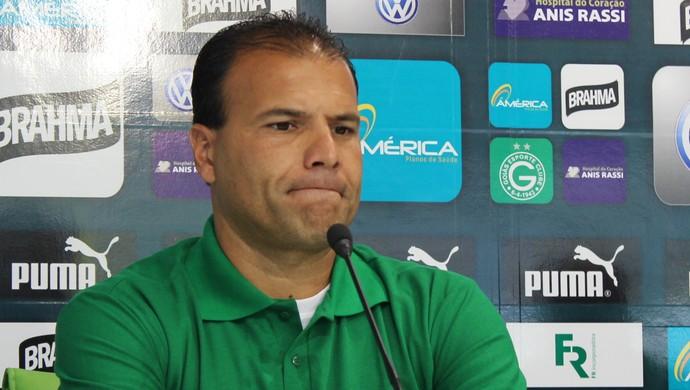 Harlei - gestor de futebol Goiás (Foto: Fernando Vasconcelos / Globoesporte.com)