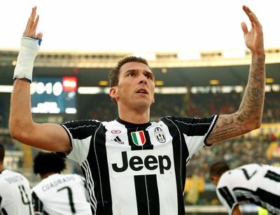 Mandzukic Juventus x Chievo (Foto: Reuters)