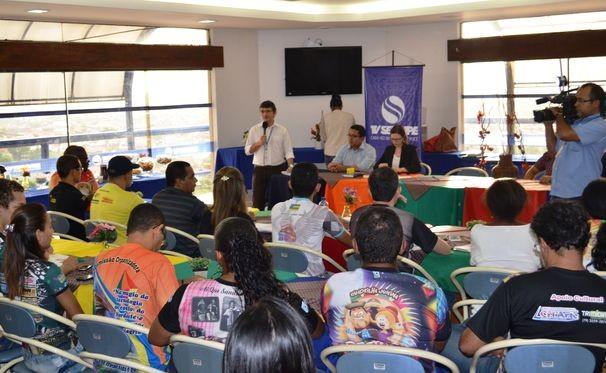 Sorteio do 'Levanta Poeira' foi realizado na tarde desta terça-feira, 26 (Foto: Divulgação / TV Sergipe)