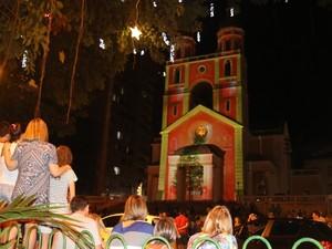 Catedral terá projeção de imagens natalinas durante o lançamento (Foto: Petra Mafalda/PMF)