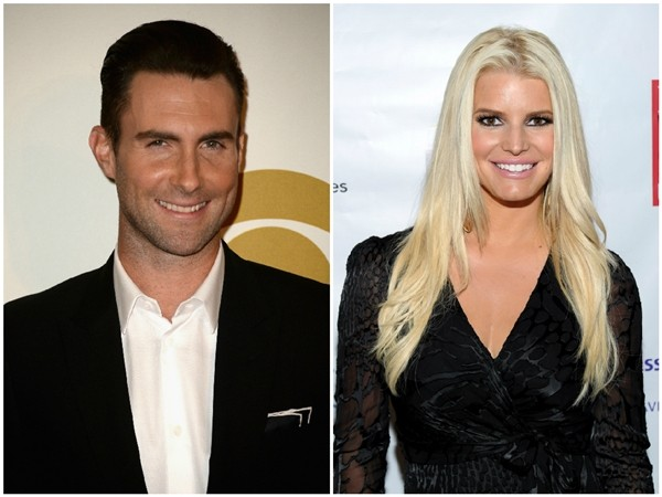 Adam Levine e Jessica Simpson (Foto: Getty Images)