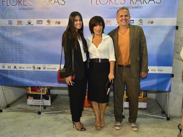 Antonia Morais, Glória Pires e Orlando Morais (Foto: Alex Palarea e André Muzell / AgNews)