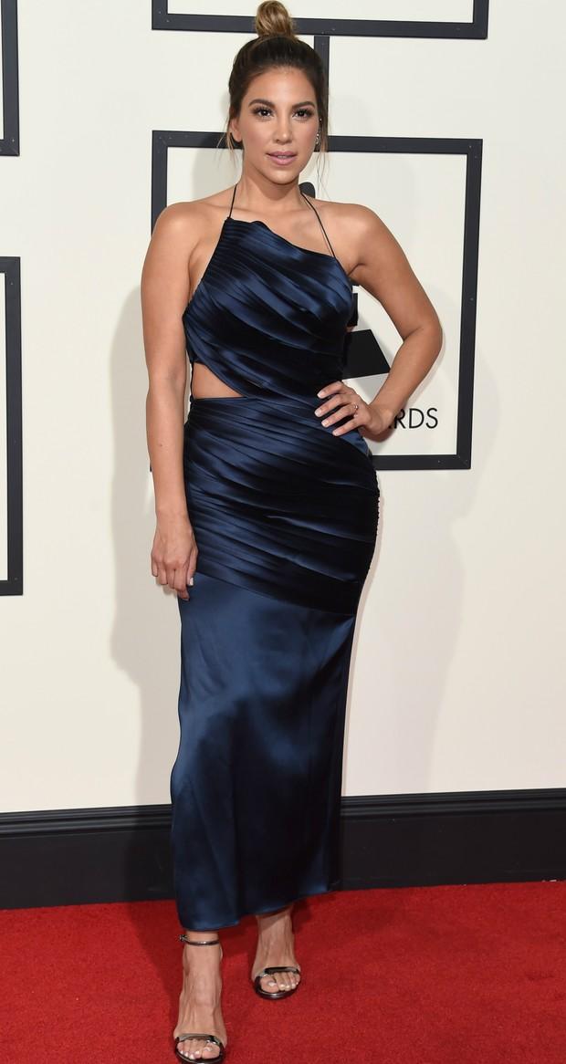 Liz Hernandez no Grammy 2016 (Foto: Getty Images)
