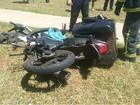 Crânio de motociclista 'afunda' após colisão com carro no DF